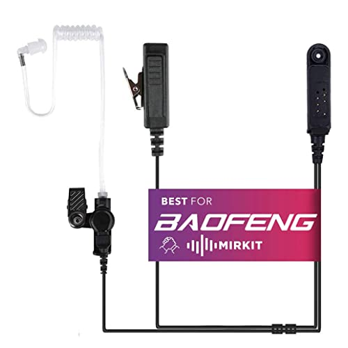 Speaker Mic with Reinforced Cable for Baofeng UV-XR UV-9R Plus Two Way Radio
