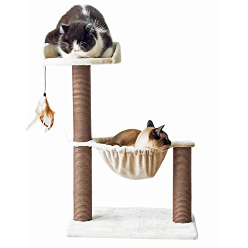 Aimiwial Cat Scratcher for Indoor Cats Round with Ball,Round Cat Scratcher Cardboard Cat Funny Toy with Circle Track and Moving Balls,Durable Scratcher Cardboard Pads for Large Cats and Kittens Toys