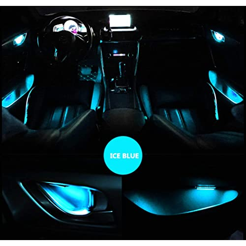 Ambient Lighting Car Interior Atmosphere Light For Inner Auto Door Handle Decorative Handle Bowls Led Light 4pcs Ice Blue Buy Products Online With Ubuy Ghana In Affordable Prices B07sbyk2l8