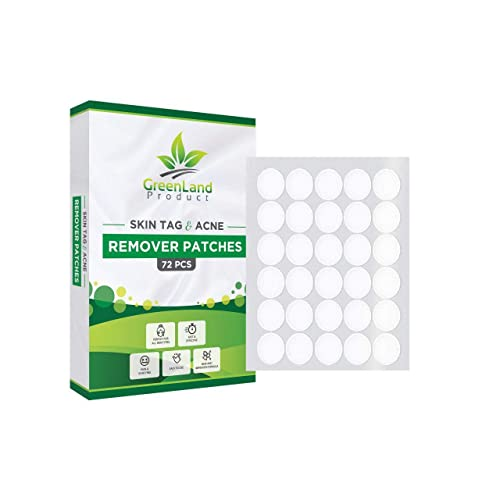 Skin Tag And Acne Remover Patches 72 Pcs Natrual Ingredients