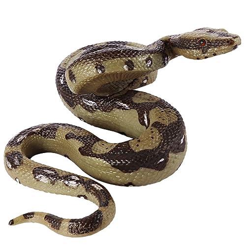 Halloween Rubber Toy Fake Snakes Props Realistic Safari Prank Gift Garden Joke