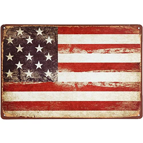 Erlood Vintage Funny American Flag Logo Retro Bar Wall Plaque Decor Metal Tin Sign 12 X 8 Buy Products Online With Ubuy Ghana In Affordable Prices B00p9ftu3y